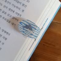자동책갈피 수지인 카츠시카 호쿠사이 후지산