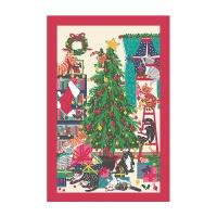 크리스마스 트리 캣 면 티타올(UK)