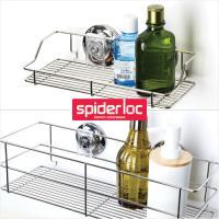 [굿센스] 스파이더락 욕실선반 2종세트 B형(400+선반소)