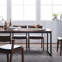 [채우리] 루킹 멀바우원목 6인식탁세트(의자)