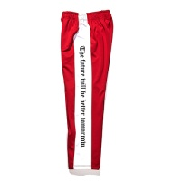 [비에스래빗] Modern Line track pants_Red