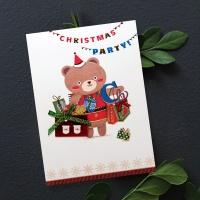 FS1029-1 크리스마스카드,트리,산타,성탄절