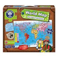 세계지도 퍼즐과 포스터