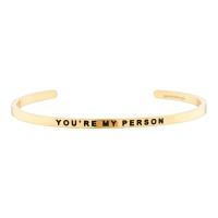 [만트라뱅글] YOU'RE MY PERSON - 골드
