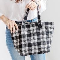[F/W] W-08 체크 숄더백 여성가방