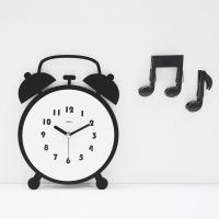 [시우아트] 트윈벨 무소음 벽시계 탁상시계