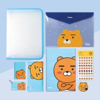[무료배송]  카카오프렌즈 라이언 어피치 어린이 문구 선물 세트