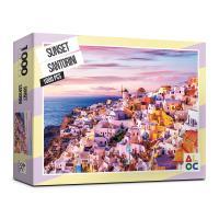 (알록퍼즐)1000피스 석양의 산토리니 직소퍼즐 AL3016