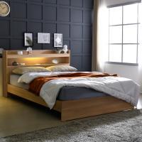[보루네오 하우스] 아르메 엘피노 LED 일반형 침대 Q_컴포트 본넬매트