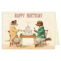 카발리니 생일카드 Dogs & Cake