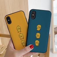 아이폰8 삐약이 삼형제 카드케이스
