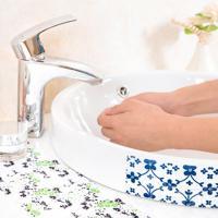 싱크 세면대 화장실 위생 방수 스티커