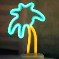 LED 네온 전구 USB 조명등 (야자수)