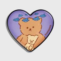 blue bird bear-purple(hearttoktok)