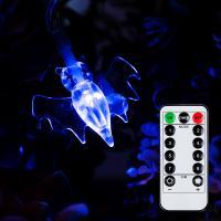 어반 LED 할로윈 소품 박쥐 가랜드 무드등 30P 방수형