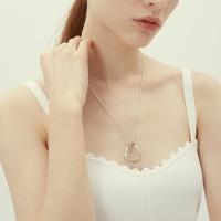 simple wave necklace-M