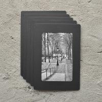 페이퍼프레임 프리미엄 - 4x6 블랙 5매
