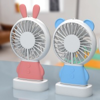 요이치 휴대용 LED 미니 코코 선풍기