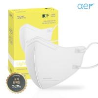 아에르 라이트핏 KF94 보건용 마스크 화이트30매