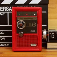 클래식 카세트라디오 메탈 다이얼 캐쉬박스