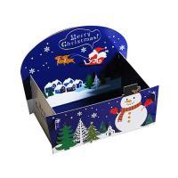 [대용량] 크리스마스양면트레이세트-눈사람 대 100개