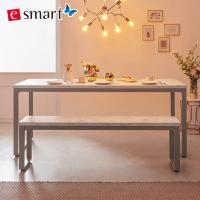 [e스마트] 스틸마블 6인용 식탁테이블 1600x800