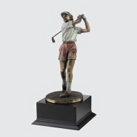 [무료배송] 골프 트로피 스윙모션 HB-1306W 싱글패 골프패