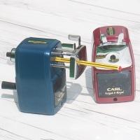 [CARL] Made in Japan..2단계 심조절 장치 부착-카알 연필깎이 Angel-5 Royal HA771