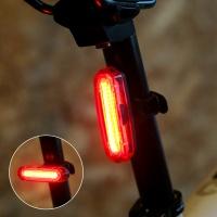 [자전거후미등] CS BIKE AQY-096 USB 충전식 컴팩트 후미등