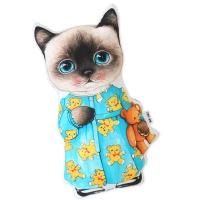 고양이삼촌 쿠션 - 파자마 클라우디