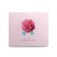[인디고샵] 플라워 스트라이프 카드