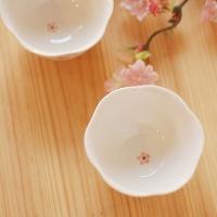 술잔(꽃잎모양)_벚꽃