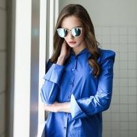 MER RT E6005 C3 블루 미러 선글라스 편광렌즈