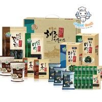[엔젤쿡] 국산 거금도 미역 다시마 8종선물세트 3호 AGCBYS1808