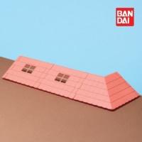 반다이 하코룸 빨간지붕 키트 / 조립 장난감