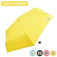 [무료배송] [무료배송] 카카오프렌즈 50에코플라워 슬림 5단우산