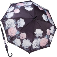 빈티지 로즈 - 원목자동장우산