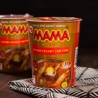 [태국 컵라면] 마마 컵 쉬림프 크리미 똠얌 (톰얌)