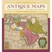 2019 캘린더 Antique Maps