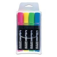 [아트라인]4색세트 형광펜 EK-660/4W