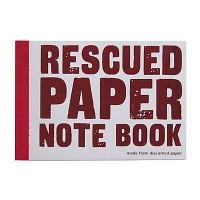 Rescued Paper NoteBook Medium