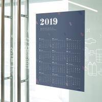 2019 포스터 365 캘린더_밤공기조약돌