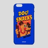 [어프어프] 하드케이스 Dog snacks-blue