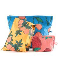[바쿠백] 고 파우치 3size 세트 Backyard Fruits
