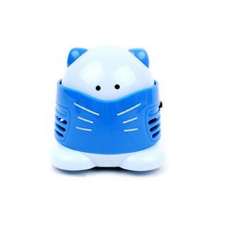 고양이 미니 청소기 - 블루