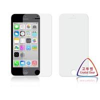 애플 아이폰5C 고투명 항균 액정보호필름 (전면 2장)