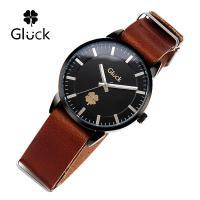 [Gluck]글륵 행운의 시계 GL2302-BKBR 나토 18mm 본사정품