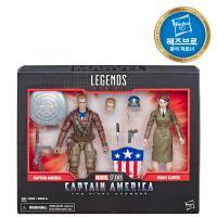 마블 80주년 피규어-캡틴아메리카&페기카터