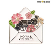 NO WAR YES PEACE 뺏지