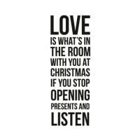 클리어 스탬프 Christmas Love